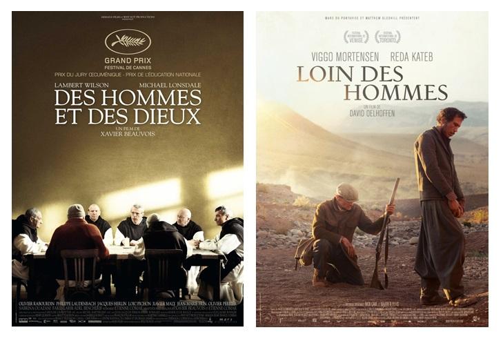 Twee existentialistische films: 'Des Hommes et des Dieux' van Xavier Beauvois en 'Loin des Hommes' van David Oelhoffen