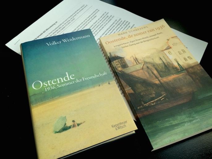 Literatuur voor Oostende: Volker Weidermann, Mark Schaevers en de geprinte lezing van Arnon Grunberg