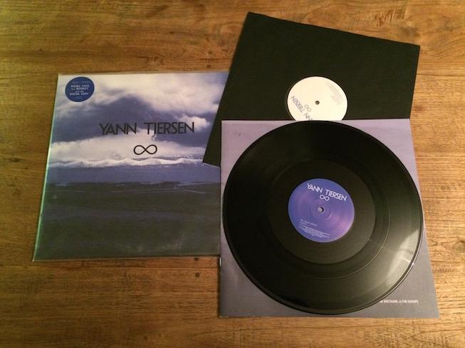 Infinity, de lp van Yann Tiersen.
