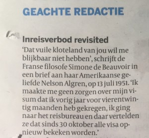 Brief Volkskrant_1 februari 2017