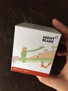 mont blanc_petit prince_red fox